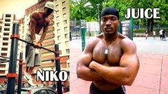 Juice & Niko - Muscle Up / Street Workout