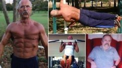 No Excuses !! Super Strong Grandfather 67 Year Old Robert Durbin AGE IS JUST A NUMBER