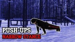 Narrow Stance Push-Ups
