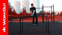 180 Turnaround Dips  Street Workout
