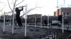 Brooklyn Pull ups ft.Prince Kong workout edition
