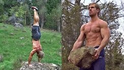 ALL MUSCLE GROUPS Workout Routines  20+ Exercises (Nature & Wilderness Workout MOTIVATION)