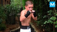 10-Year-Old Boxing Genius Javon Walton  Muscle Madness