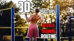 30 Pull-ups in a Row  Weekly Training Routine