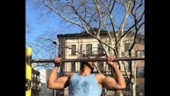 Brooklyn Pull ups forever!!  Lever & Dips THANKS ALWAYS