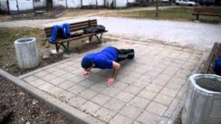Requirements for STREET WORKOUT competition - 04.04.2015