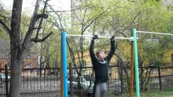 Street Workout. From November to May
