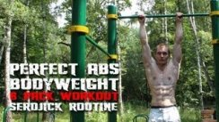 Street Workout ABS routine (5 exercises for Hard Rock ABS )
