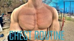 Calisthenics Bodyweight Chest Routine 2 ( Street Workout )