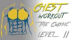 Chest Workout - Level 2 - No Music