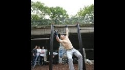 "5 One Arm Muscle ups - left Hand - Oleksii Odnolkin ""Street Workout Motivation Vienna Austria"""