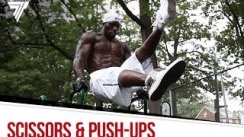 Scissors & push-ups on the parallel bars | Street Workout Training | Hannibal For King