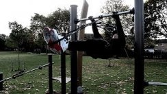 Assisted front lever tutorial (step by step progressions calisthenics street workout)
