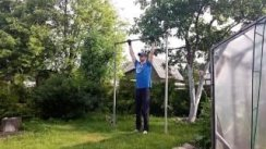 Workout 100 days. Final test pull-ups