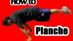 How to do a Planche- Exercise Workout Tutorial for Training Planche Pushups