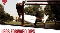 Muscle up on the parallel bars / Legs forward dips | Street Workout Training | Hannibal For King