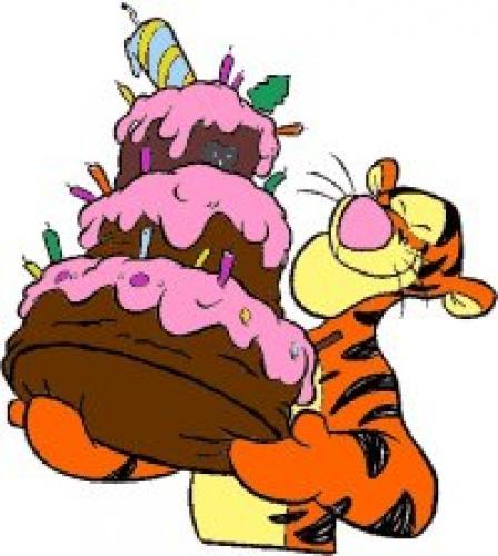 Продолжением выходных, картинки с днем рождения тигруля