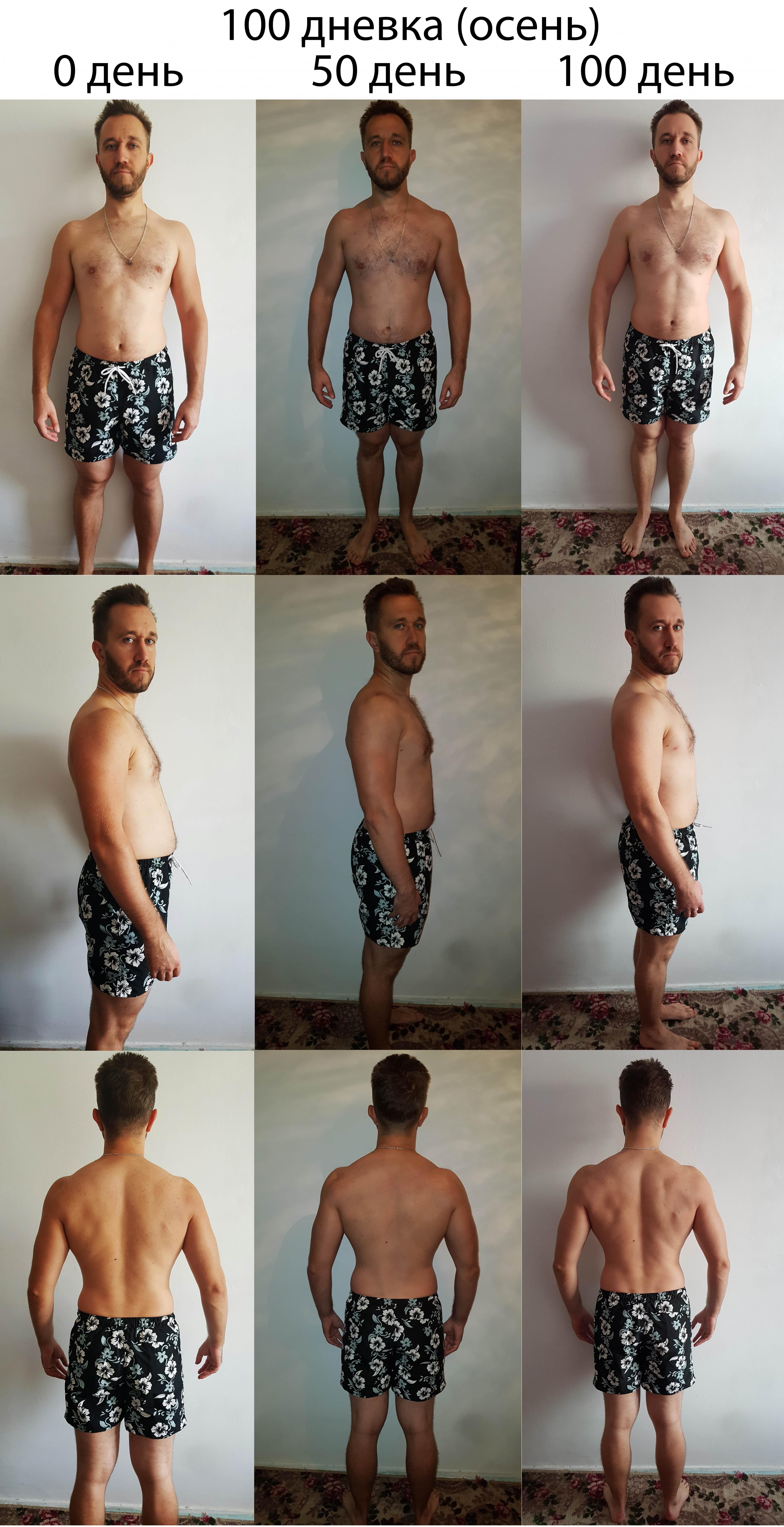 месяц отжиманий фото до и после быть