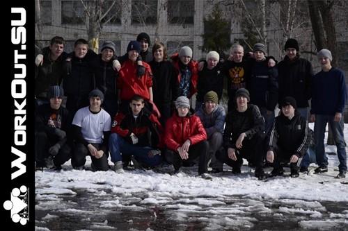 Воркаут в России: Ник Анисимов из команды EVREBARS