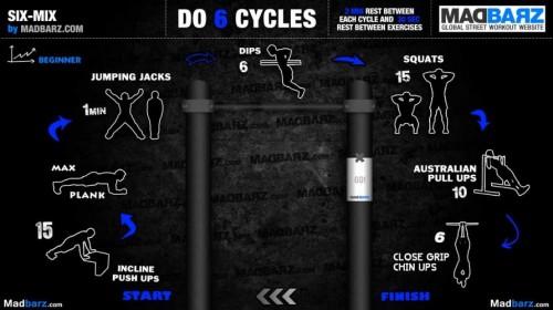 42 программы тренировок дома и на уличных турниках и брусьях от сайта MadBarz.com