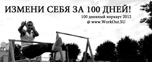 Цели воркаута-2012