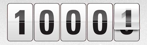 10000 участников!!!