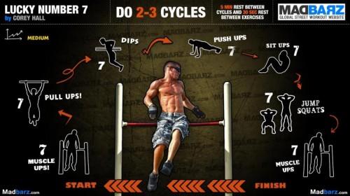 32 тренировочных воркаут программы от MadBarz.com