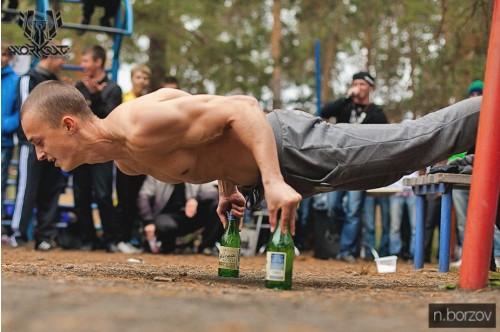 В Челябинске набирает популярность street workout