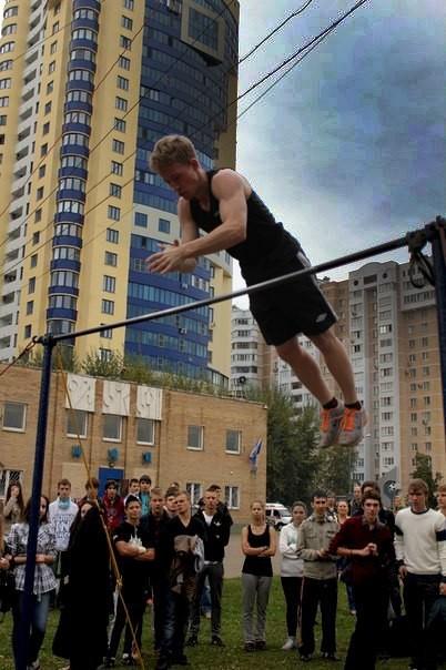 Соревнования по воркауту в Реутове