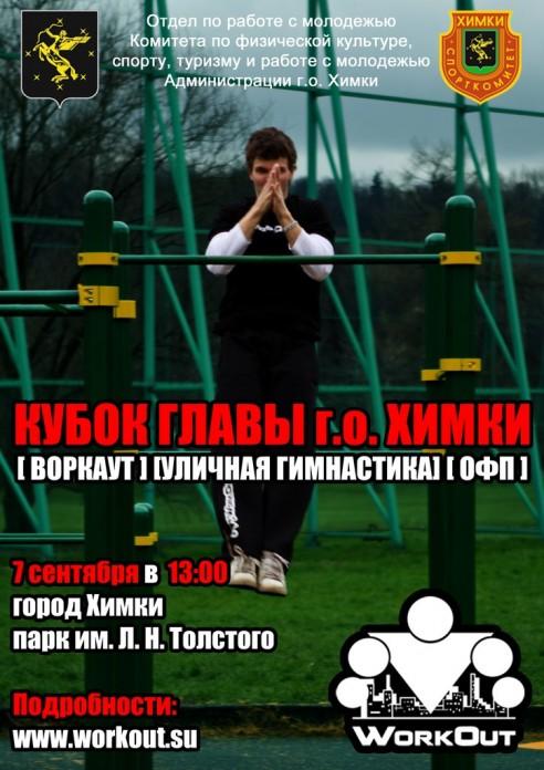 Итоги Кубка Главы г.о. Химки