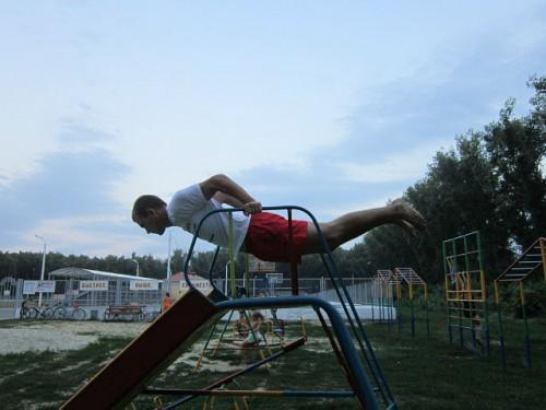 Воркаут – новый уличный спорт вологодской молодежи