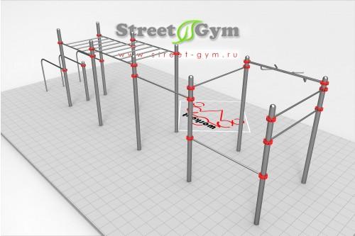 StreetGym: Воркаут площадка для Парка-II