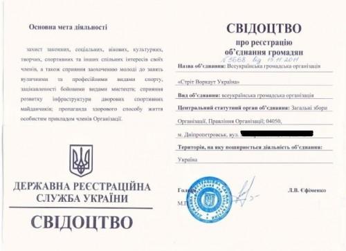 На Украине Street Workout получил официальный статус!