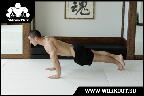 Day 5. Floor push-ups