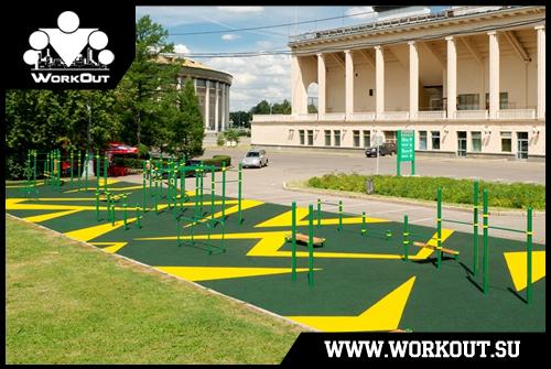 Классификация уличных спортивных площадок для воркаута