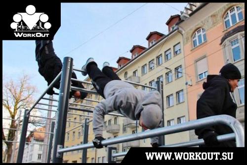Когда турник — целый спортзал. Воркаут в Санкт-Петербурге