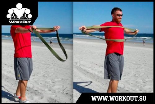 Упражнения с резиновыми петлями: 28 вариантов для тренировок (видео и фото)