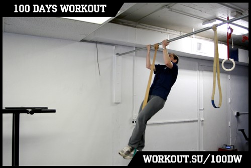 Day 16. How to learn pull-ups from the very beginning
