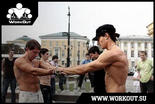 Ghetto Workout (самая первая статья о воркауте)