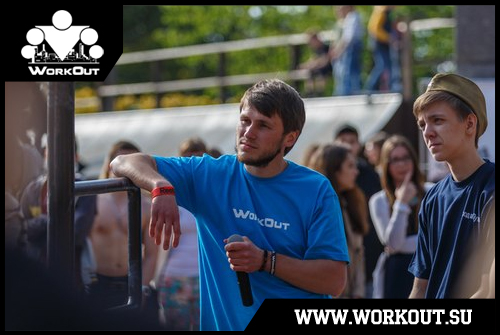 Тарас Войтков: Уличные тренировки - это залог крепкого здоровья