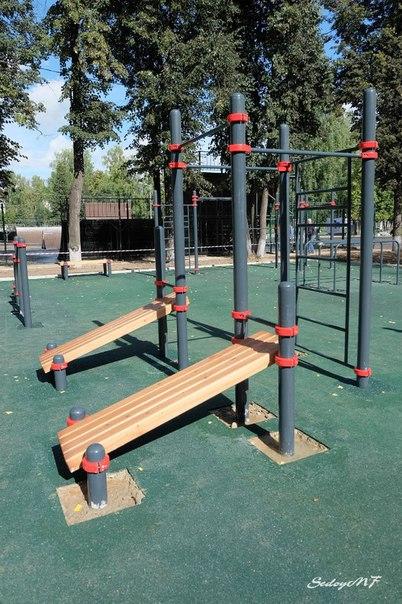Открытие Workout площадки