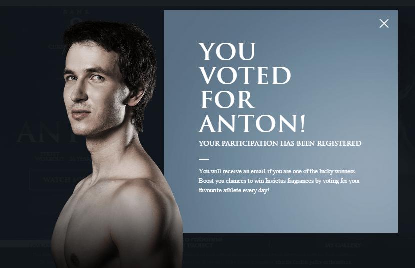 Антон и воркаут @ Invictus Award Season 3