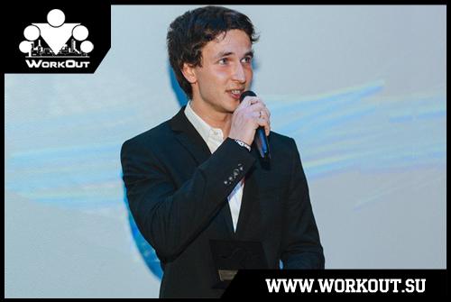 Антон Кучумов получил премию за вклад в развитие воркаута