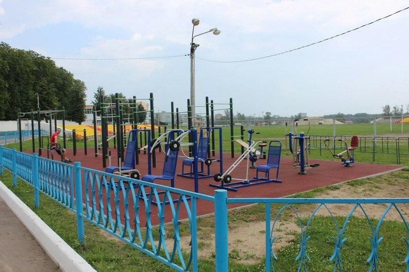 В Егорьевске открыли новые воркаут-площадки