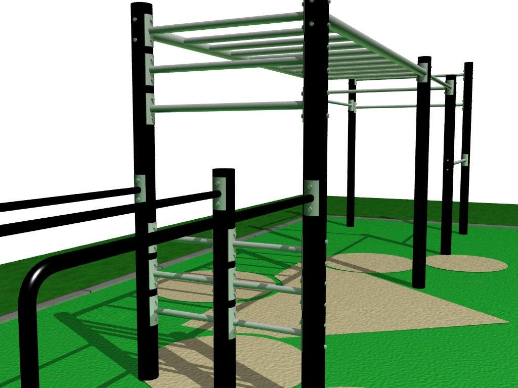 Проект площадки из Швейцарского парка
